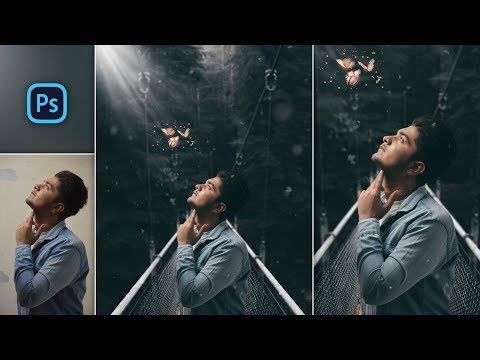 How To Edit Like @calop | Fantasy Butterfly With Moody Dark Photo Manipulation In Photoshop