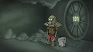 Fallout Lore in a minute (Rus Dub)