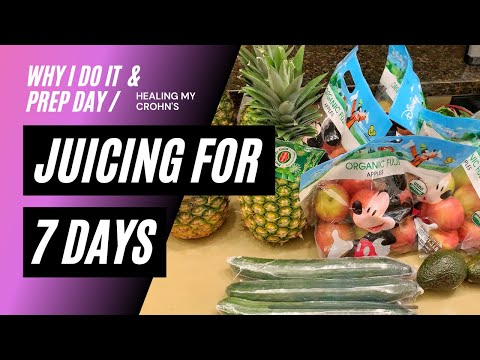 7-DAY JUICING DETOX - VLOG // Why I Juice, Why It's Essential to Help My Crohn's & My Juicing Prep