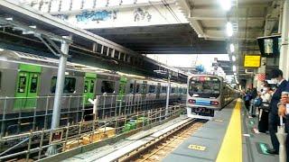 【渋谷駅】JR埼京線ホームが山手線ホームと横並びに  (1/2)  2020.6.1  Shibuya