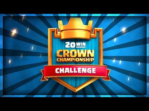 NEW 20 WINS CHALLENGE!! Searching for the Best Decks!! CCGS Day 1 - Clash Royale