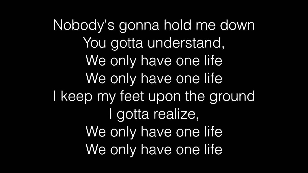 Madcon - One Life ft. Kelly Rowland lyrics