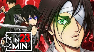 ATTACK ON TITAN 'STAFFEL 4' IN 23 MINUTEN (1/2)