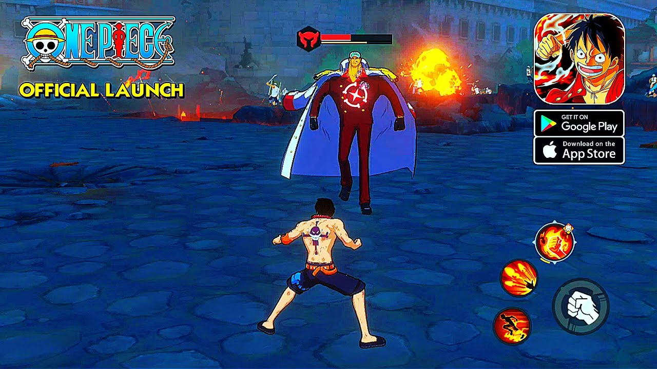 One Piece Fighting Path - Official Launch Gameplay (Android/IOS) - YouTube