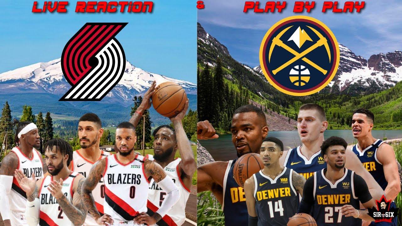 Portland Trail Blazers vs. Denver Nuggets: Live updates, time, TV ...