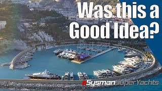 Was this a Mistake? Brand New SuperYacht Marina