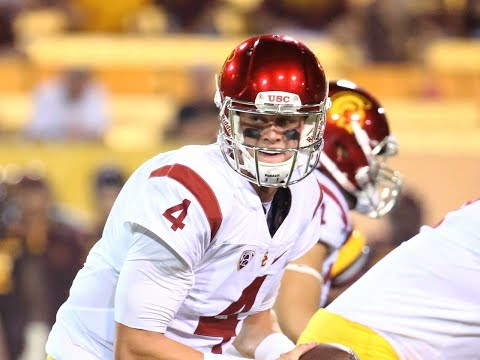 Max Browne (USC QB) vs Alabama 2016