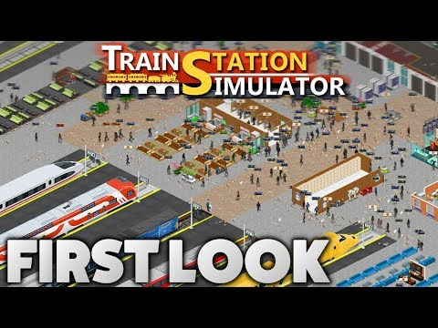 Train Station Simulator (Early Access) - First Look Overview