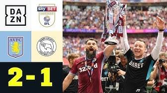 John Terry bejubelt Villans-Aufstieg: Aston Villa - Derby County 2:1 | Championship-Finale | DAZN