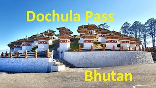 Dochula Pass in Bhutan Amazing View