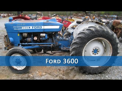 Ford 3600 Tractor Parts - YouTube