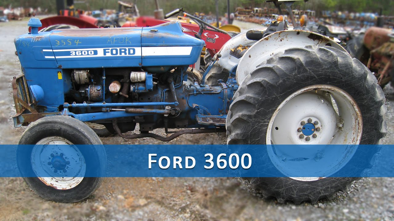 3600 Ford Tractor Diagram - Wiring Diagrams Load