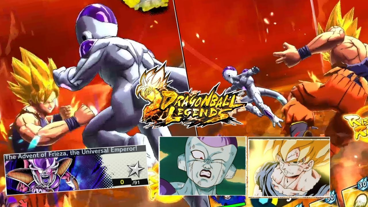 The Advent Of Frieza , SSj Goku vs Final Form Frieza Full ...