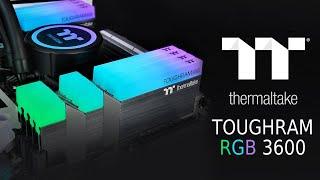 [Cowcot TV] Présentation mémoire RAM DDR4 THERMALTAKE TOUGHRAM RGB 3600