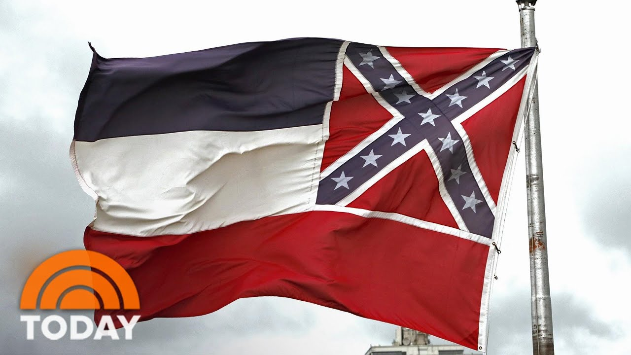 Mississippi's new magnolia flag starting to fly after vote
