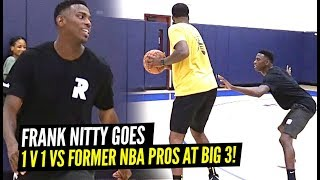Drew League 3x MVP Frank Nitty 1v1 King of The Court vs Former NBA Players at Big 3!!
