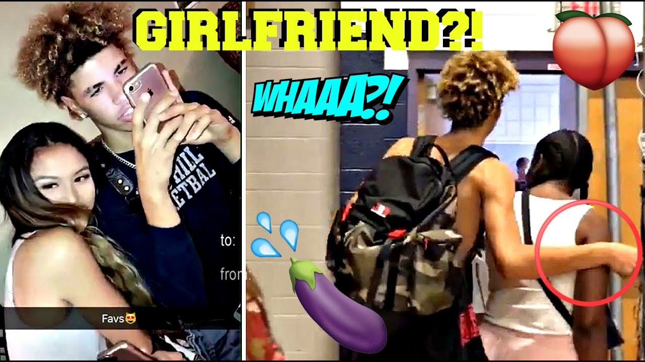Lamelo Ball Has A New Girlfriend Youtube