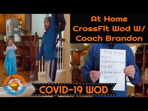 COVID-19 Home Workout With Coach Brandon