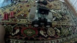 Машинка робот, которая не поехала