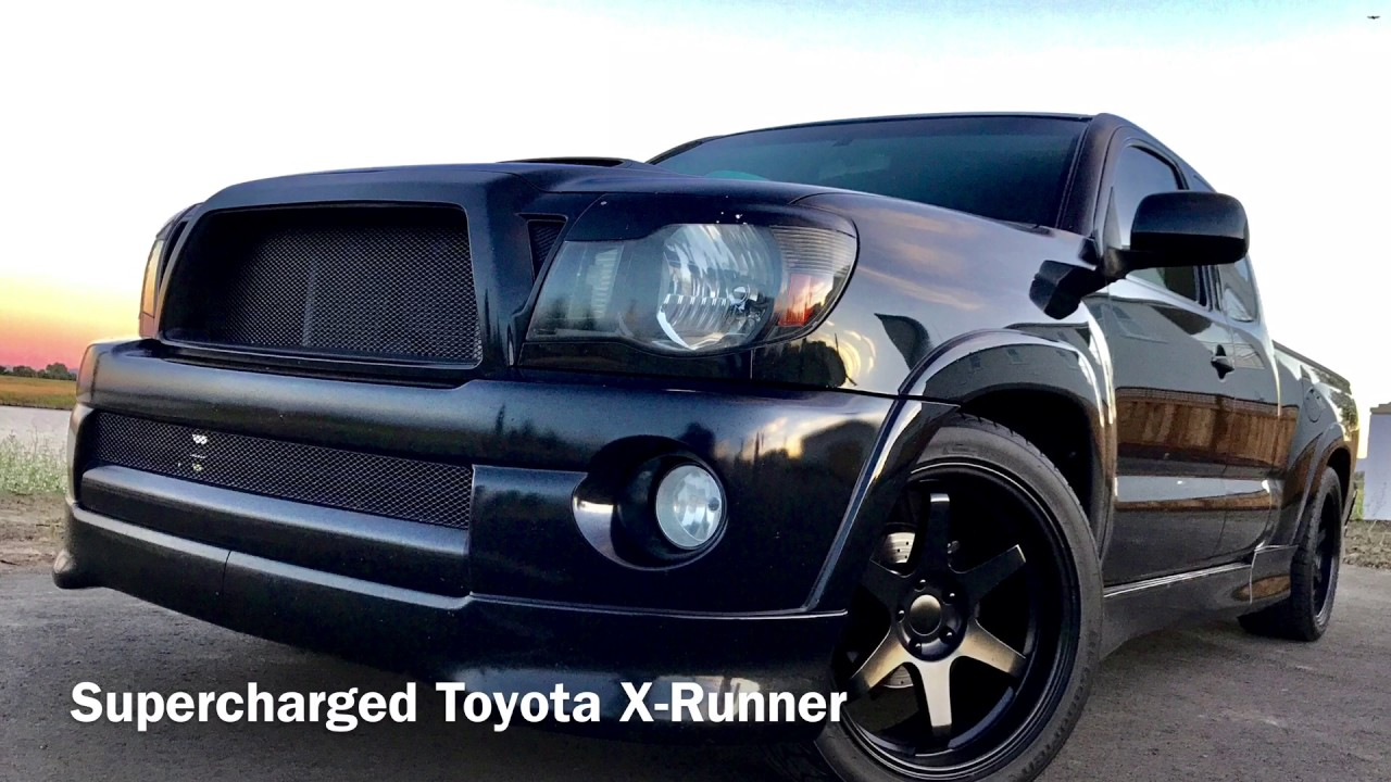 toyota tacoma x runner supercharged youtube. Black Bedroom Furniture Sets. Home Design Ideas