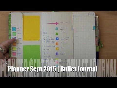 Planner Set Up   Bullet Journal + Evernote + Moleskine   Sept2015