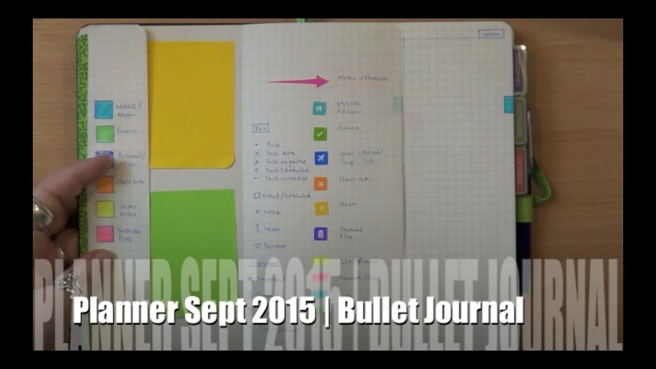 bullet journal using evernote