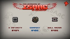 Binding of Isaac: Afterbirth+ Item guide - D Infinity, Compost, Dull Razor