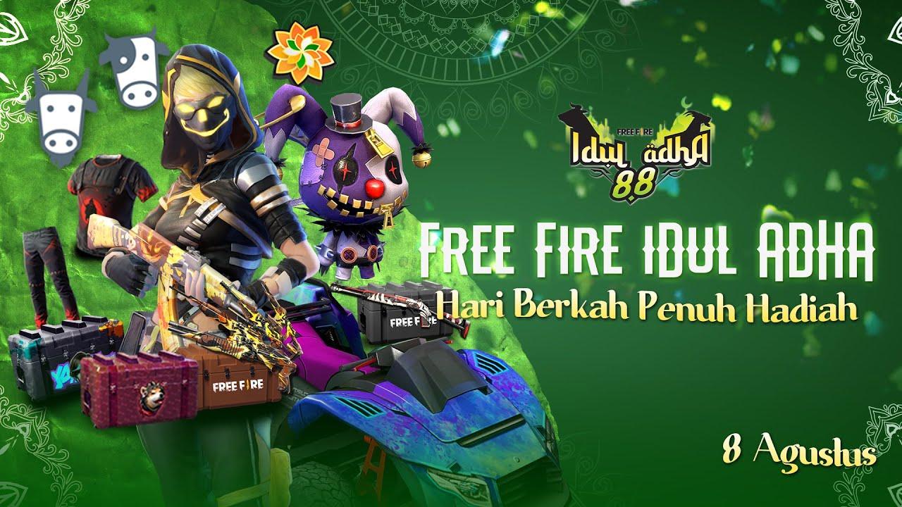 Free Fire Idul Adha | Hari Berkah penuh hadiah!
