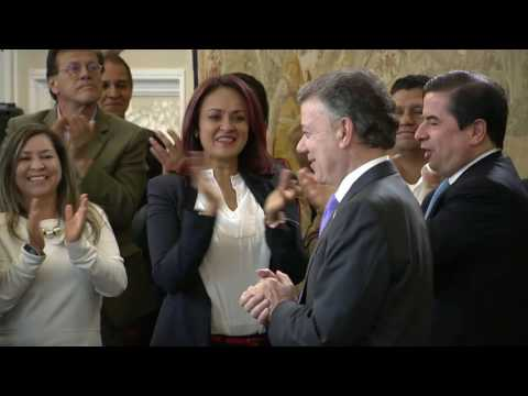 Juan Manuel Santos, El Nobel de la Paz