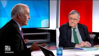 Shields and Brooks on Trump's focus on immigration, midterm closing arguments