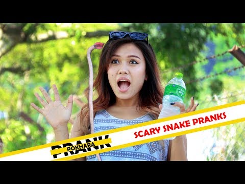 Nepali Prank | Scary Snake Pranks | Prank Pokhara | S2 Production