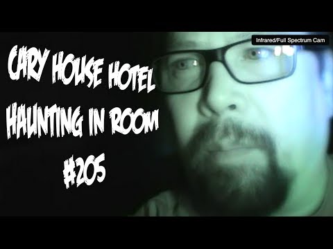 Cary House Hotel Haunting in Room 205 Findings
