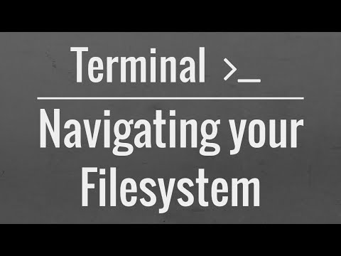 Linux/Mac Terminal Basics: Navigating your Filesystem