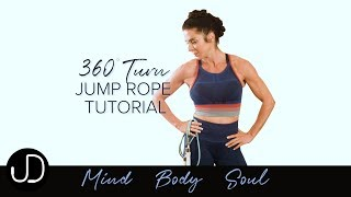 *360° TURN JUMP ROPE TUTORIAL* Watch Janine Delaney's 360° Turn Jump Rope Tutorial