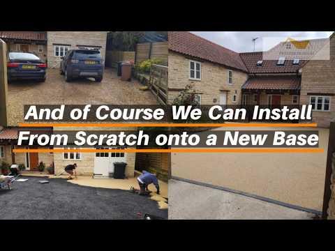 Peterborough Improvements - Resin Bound Driveways