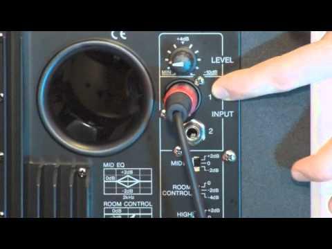 How To Room Control Yamaha Hs