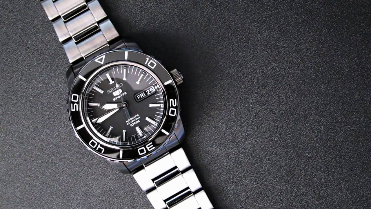 Seiko 5 Fathoms SNZH59 With 7s36 Movement