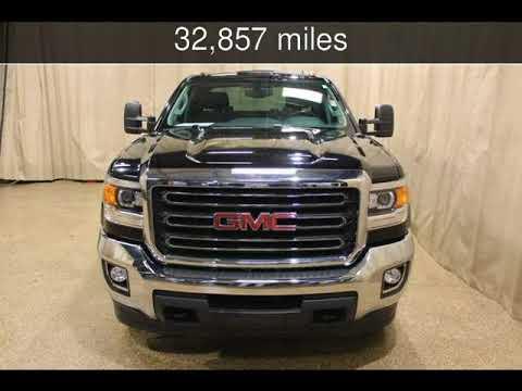 2015 GMC Sierra 2500HD available WiFi SLE Used Cars - Roscoe,Illinois - 2018-02-08