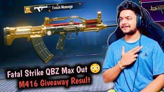 Fatal Strike QBZ Crate Opening & Max Out | GodL Guru