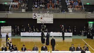 CHIBA vs OSAKA 67th All Japan Interprefecture KENDO Championship 2019 1st Round