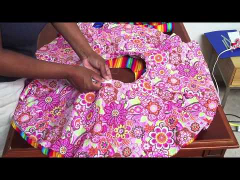 How To Make A Circle Skirt For Girls Youtube