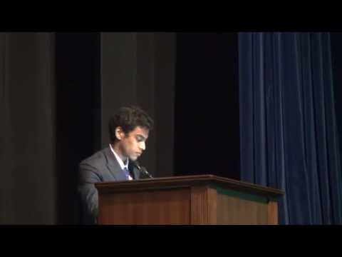 DSMUN'15 Devansh Agarwal's (Secretary General) Closing Speech