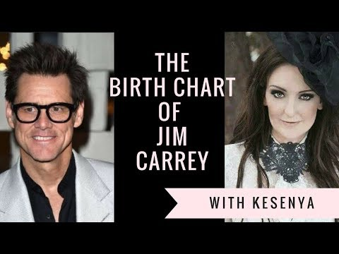 The Birth Chart of Jim Carrey