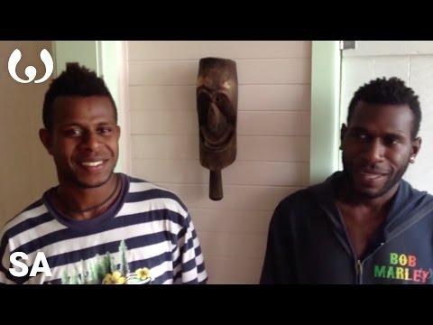 WIKITONGUES: Watas and Wari speaking Sa