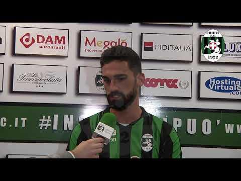Eccellenza Chieti FC 1922 -  Capistrello intervista a Simone Patacchiola