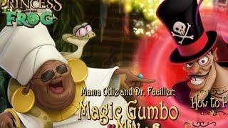 Princess and the Frog Magic - Принцесса Лягушка Три в Ряд