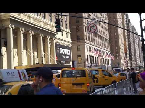 Madison Square Garden and Penn Station filmed on Wednesday June 28 2017