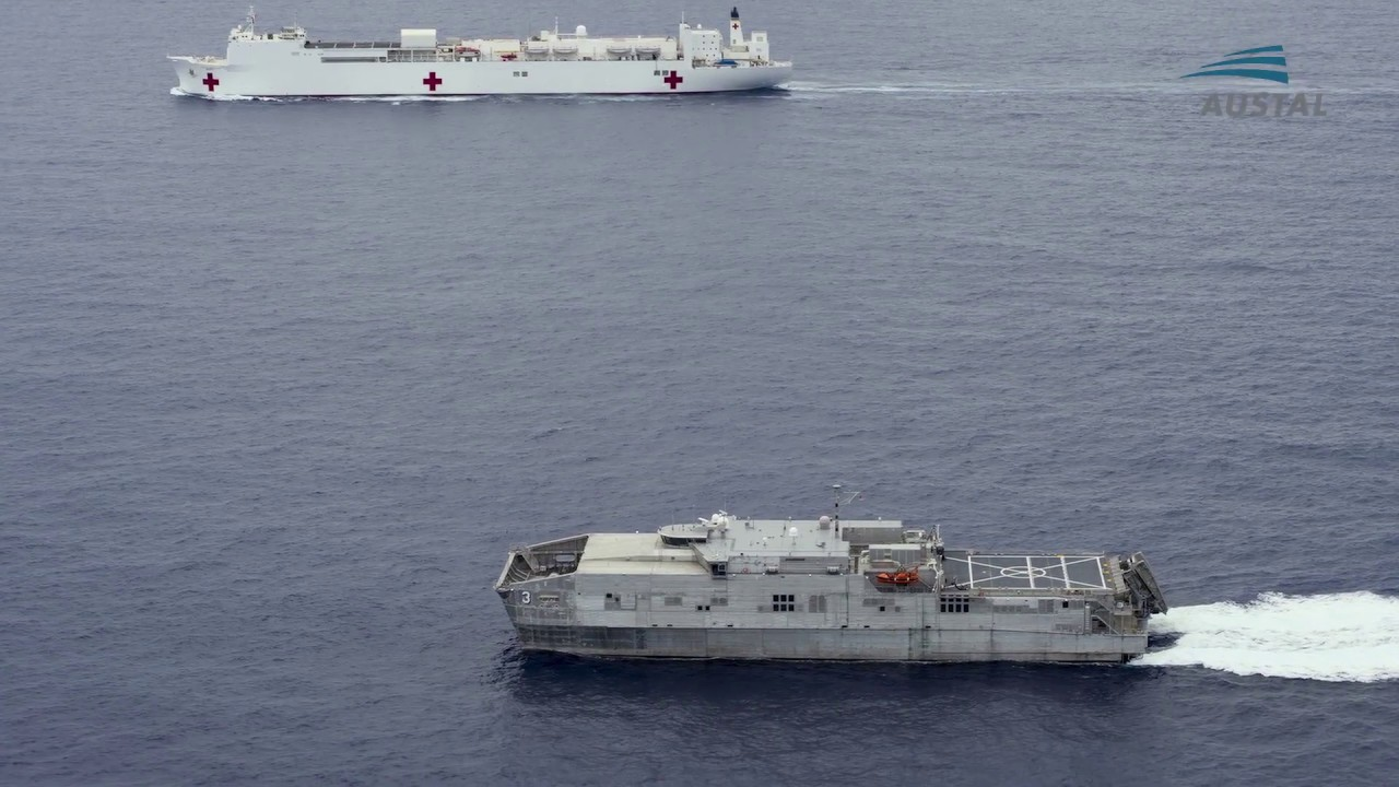 4b7b3ebb7570 Austal USA - Expeditionary Fast Transport (EPF) Updated Video - YouTube