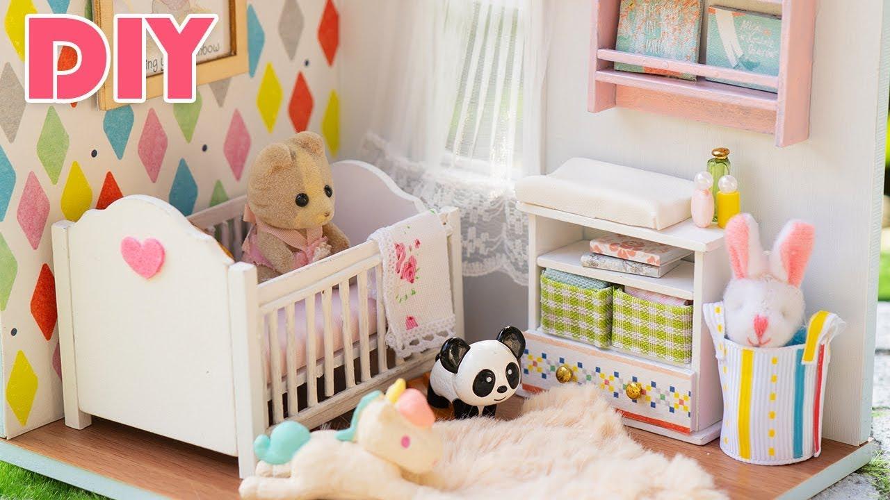 Diy Dollhouse Miniature Nursery Room