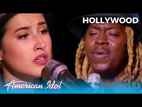 Sophia Wacherman Vs. Jovin Webb: Soul Singer THROW Down In Hollywood Week @American Idol